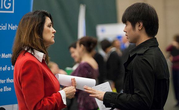 what to do career fair