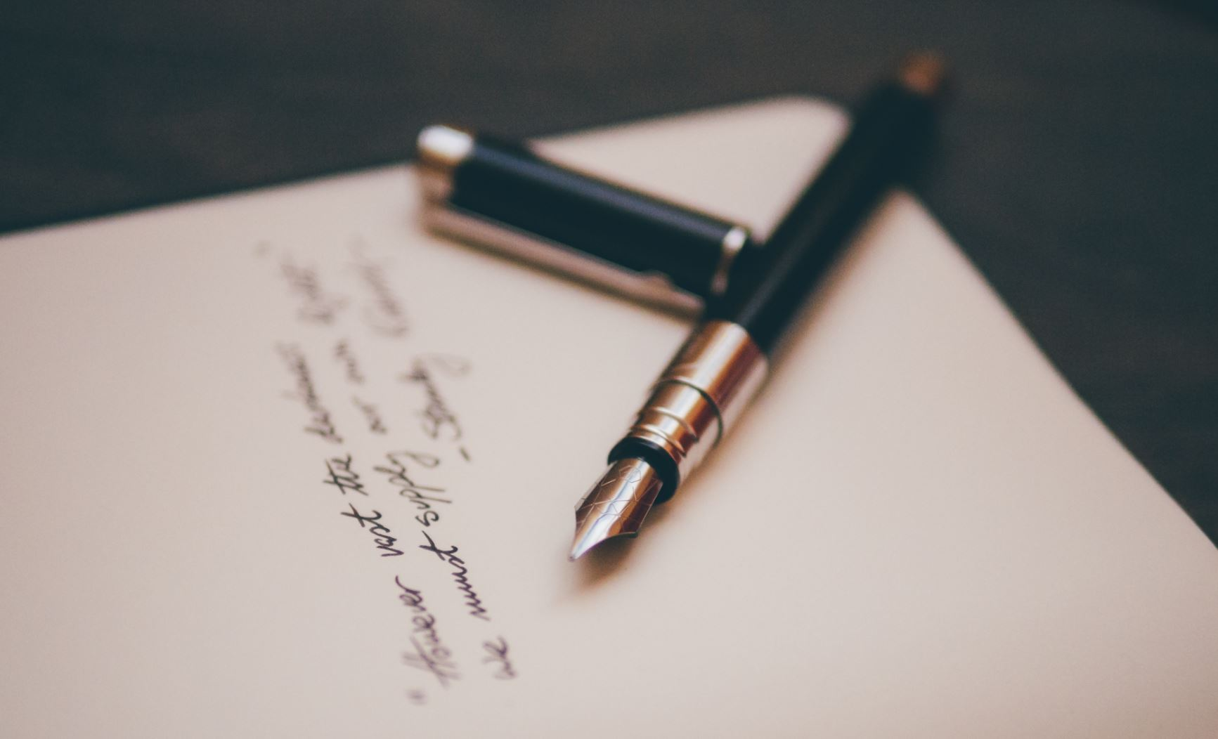 how to write a handwritten thank-you note